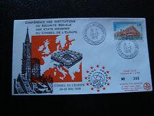 FRANCE - enveloppe 24/5/1978 yt service n° 54 (cy19) french