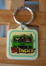 Old #1 Trucker Cat & Mouse Metal Key Chain Keychain Keyring Ring by Contenova