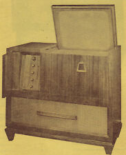 1950 PHILCO 48-2500 S TV TELEVISION SERVICE MANUAL PHOTOFACT CONSOLE schematic