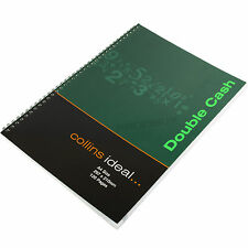 Collins Ideal A4 60 Sheet Double Cash Column Book Accounts Book Keeping Ledger