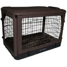 Pet Gear The Other Door Steel Crate w/Pad, 36, Chocolat PG5936BCH CRATE NEW