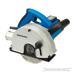 Silverline 1700W 150mm Electric Wall Chaser Saw Slotter Free + 2 Discs 230V