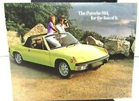 1973 Porsche 914 Dealer Sales Brochure Color Folder Original