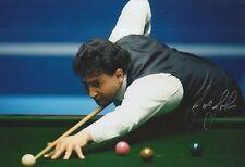 Joe Johnson Snooker 12x8 Foto Firmada a Mano Leyenda 1.