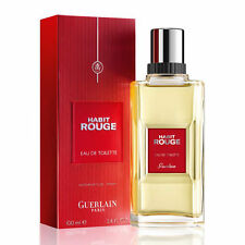 * Habit Rouge * Guerlain 3.4 oz 100 ml Men EDT Cologne SEALED !!