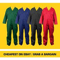 Mens Unisex Boiler Suit Workwear Overall PPE Coverall