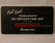 Snap On MT2500 Scanner US Domestic Fast Track Troubleshooter Cartridge Board Kit