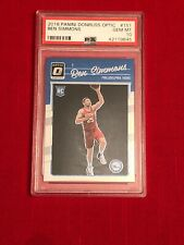 2016 Donruss Optic Ben Simmons RC #151 PSA 10