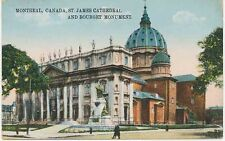 "CANADA 1910 superb mint col. pc ""MONTREAL (Québec), Canada, St. James Cathedral"""