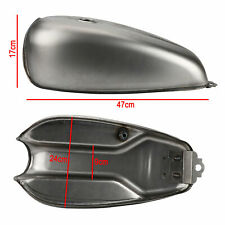Brand New Honda Motorcycle 9L Fuel Gas Tank 2.4 Gallon Custom Steel Cafe Racer