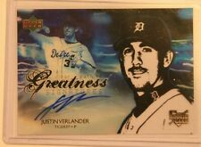 2006 Upper Deck Clear Path to Greatness Justin Verlander Auto #118