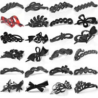 Women Hair Claw Banana Duckbill Clip Plastic Grip Clamp Comb Crab Pins Accessory