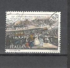 N.1881 - ITALIA 1989 - INAUGURAZIONE FERROVIA - MAZZETTA DA 15 - VEDI FOTO