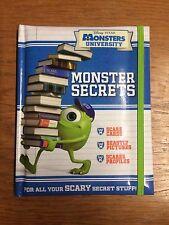 Monsters University: Monster Secrets (Disney Book of Secrets) Like New