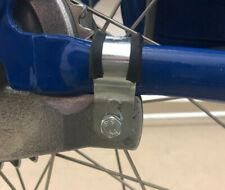 Schelle Bandage mit Gummi für Bremsankerplatte inkl. Schraube für Simson SR2