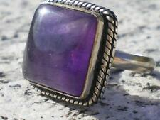 Lovely Natural Deep Purple Amethyst stone Ring from Bolivia 35 cts