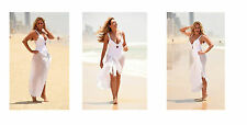 C 60 set3 Carol Vorderman 3 swimsuit barefoot 12x8 inch approx A4 photos