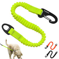 Truelove Short Bungee Dog Leash Nylon Retractable Extension Lead for Training