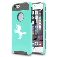 For Apple iPhone X 5 5s 6 6s 7 8 Plus Shockproof Impact Hard Case Cover Unicorn