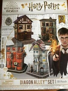 Wizarding World harry potter diagon alley 3d puzzle