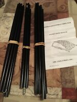 Pre-Owned Alum. Tent Pole Set for 1 Man Military Combat Shelter by ORC Industrie