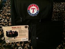 New listing Nwts Picnic Time Texas Rangers Trunk Boss Organizer w/ Cooler Black *Great Gift