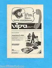 TOP971-PUBBLICITA'/ADVERTISING-1971- VIPA - TELEFONI COMUNICANTI (A)