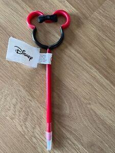 Disney Minnie Mouse Head 3D shaped  pen NEW Primark