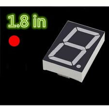 5PCS NEW 1.8 inch 1 digit Red Led display 7 segment Common cathode