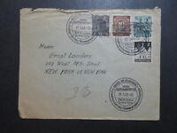 Germany 1948 Posthorn Overprints On Cover - Z10120
