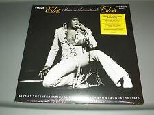 ELVIS PRESLEY Showroom Internationale:-180 GRAM LP VINYL-SEALED-FR. ELVIS PHOTO