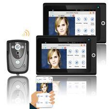 7inch High Definition Monitor WIFI Video Door Phone Doorbell Night Vision 1V2 US