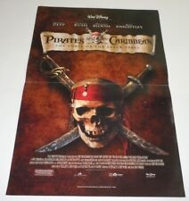 Pirates of the Caribbean Curse of the Black Pearl Poster 11x17 Inch Disney