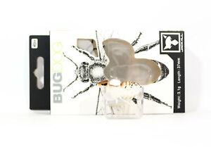 Jackall Bugdog 37mm Insect Floating Lure White Shirohitori (0893)