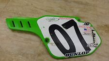 1989 kawasaki kx250 race K585~ lh left side number plate cover