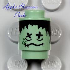 NEW Lego Knight Bus Sand Green SHRUNKEN HEAD w/Black Hair - Harry Potter 4866