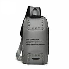 Multi-functional chest bag,gray