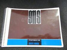 NEW Porsche 1968 911-S Original Drivers Manual  2.0 liter 4607.20 GENUINE  NOS
