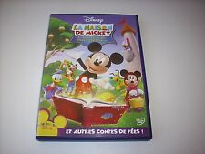 "DVD WALT DISNEY "" LA MAISON DE MICKEY CONTES & SURPRISES """