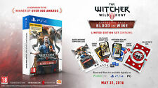 THE WITCHER III 3 WILD HUNT BLOOD AND WINE LIMITED PS4 PLAYSTATION ENGLISH