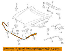 Mercedes MERCEDES-BENZ OEM 01-05 C320 Hood-Latch Lock Release Cable 2038800459