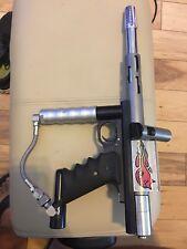Minimag automag agd paintball marker gun plus 4 barrels!