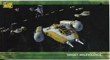 Star Wars Clone Wars Widevision Silver Stamped Parallel Base Card [500] #10