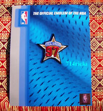 Official 1997 NBA All Star Game patch Jordan Pippen Ewing Shaq Olajuwan Barkley