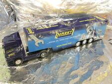 "** Herpa 268196 Mercedes Benz Actros LH '02 box semitrailer ""Hazet"" 1:87 Scale"