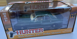 GREENLIGHT 84123 Rick Hunter's 1977 Dodge Monaco diecast model Police car 1:24th