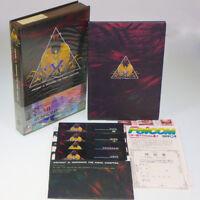 Ancient Ys II Vanished PC-8801SR 5'-2D Japan Import Falcom Boxed Complete NTSC-J