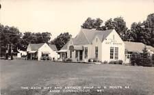 AVON, CT, GIFT & ANTIQUE SHOP ROUTE 44, EASTERN ILLUS REAL PHOTO PC, c. 1950's