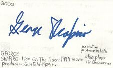 Paul Giamatti Actor Private Parts Man On The Moon Autographed Signed Index Card Autographs-original