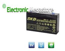SKB Ultracell UL12-6 Batteria al piombo 6V 12Ah ad alta corrente di scarica 180A